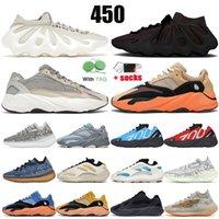 adidas yeezy boost 700 V3 MNVN 500 380 corridore dell'onda Kanye delle donne degli uomini Statico Running Shoes Nero inerzia Tephra marca delle scarpe da tennis Formatori