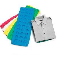 أدراج التخزين الصغيرة حجم الغسيل سريع سرعة مجلد الملابس تي شيرت بولو أضعاف الملابس قابلة للطي للأطفال