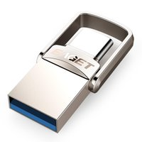 Akıllı Ev Kontrolü Çöp CU20 USB Flash Sürücü 32 GB OTG Metal 3.0 Kalem Anahtar 64 GB Tip C Yüksek Hızlı Pendrive Mini Memory Stick