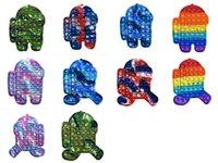 Party Pop Fidget Toys Rainbow Bubble Sensory Autism Especial NECESIDADES STORE AHORRADOR IT SQUIREE TOY PARA NIÑOS FAMILIA DHL RÁPIDO