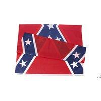 الحرب الأهلية معركة ديكسي الكونفدرالية متمردة العلم بالجملة المباشر مصنع مستعد لشحن الولايات المتحدة 90x150 سم 3x5 FT EWD8801