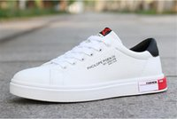 HBP Men Women Sneaker Casual Shoes Top Quality Leather Sneakers Ace Stripes Shoe Walking Sports Trainers with box