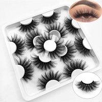 False Eyelashes Woman' Fashion Dramatic Long Cruelty-free Handmade 3D Mink Lash Extension 25mm
