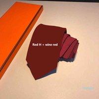 High-end Silk Necktie Fashion Design Mens Business Silk Ties Neckwear Jacquard Business Tie Wedding NeckwearX003d