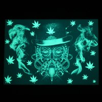 Silicone mats nonstick mat dab pad non-slip pads smoking accessories for wax oil dabber tool dabbing tools glowing in the dark