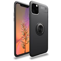 Soft TPU Cell Phone Cases Shockproof Magnetic Finger Ring Bracket Mobile Stand Back Cover For iPhone 11 12 Pro Max 6 6s Plus 5 5S SE X XS XR 7 8 13 Mini