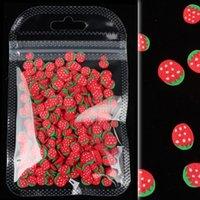 10 جرام / كيس 3d الملونة شرائح الفاكهة الصغيرة الترتر للأظافر diy الاكريليك بوليمر كلاي مسمار الفن الملحقات