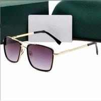 Sombras cuadradas Moda vintage de lujo Sunglases Diseñador Gafas de sol para hombres Hombre Retro Gafas de sol o Mujeres UV 400 Lens138