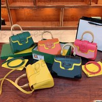 Luxurys Designer Hohe Qualität Damen 2021 Drucktaschen Frauen Mode Clutch Kleine quadratische Handtasche Kossasse Brieftasche Mutter Geldbörse Handtaschen Umhängetasche Temperament Temperament