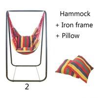 Студент общежитие качал стул спальня гамак крытый открытый детский досуг висит кровать с железной рамой и подушкой игры