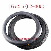 Motorcycle Wheels & Tires Size 16*2.5 16x2.5 Tire Inner Tube Fits E-bike Escooter Moped 16x2.50 62-305 Electric Bicycle Kids Bikes Wheel Tyr