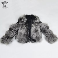 Winter Outerwear Women Real Fur Fashion Natural Plumb Strip ...