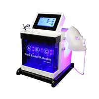 5 in 1 Oxygen Dermabrasion Machine Ultrasonic Led Mask 7 Colour Jet Bio Skin Scrubber Peel Machine Spa 660 Plus