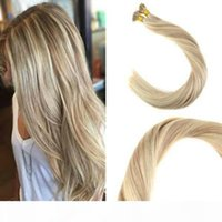 Balayage Human Cheveux I Pointe Extensions 18 613 # I Tip Fusion Fusion Prebonded Hair Extensions Stick Keratin I Tip Hair 100g Qualité du