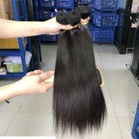 100% vierge brut non transformé populaire temple indien de Temple hétéro Human Hair Bundles pour femmes de qualité supérieure