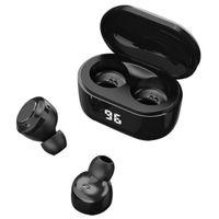 Earphones In-Ear Wireless Earphone A6 TWS Bluetooth 5.0 Stereo Headset with Digital Charge Box