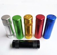 Aluminium Alloy metal bag Cream Whipper Portable smoking pipes For Charger Gas N2O NOS Cracker smoke set hot selling