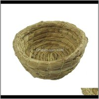 Cages Pet Supplies Home & Gardenbirds Of St Crafts Bird Nest Artificial Weaving For The Parrot Aw African Grays Drop Delivery 2021 Koez5