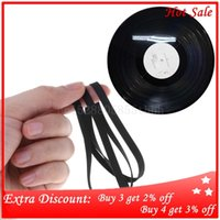 yutong Drive Belt Rubber Turntable Transmission Strap 5mm 4mm Width Replacement Accessories Phono Tape CD