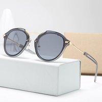 نظارات شمسية أزياء أعلى جودة نظارات الشمس للرجل امرأة الاستقطاب uv400 عدسات جلدية حالة القماش مربع الملحقات، كل شيء!