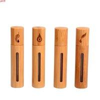 Naturel Gem Roller Boule Essential Huile Flacon Perfumée 10ml Porte-cas vide Bouteille d'arôme rechargeableboods