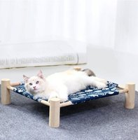 Kennels & Pens Pet Summer Camp Bed Dog Cat And Removable Washable Hammock Sleep Dogs Sofa Mat