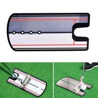 Golf Training Aids 145 * 310mm Swing Straight Practice Mettendo a specchio Allineamento Aiuto Aiuto Trainer Eye Line