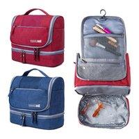 أكياس تخزين حقيبة سفر المحمولة للماء أكسفورد القماش داخلية التشطيب المنظم حقائب ماكياج التجميل