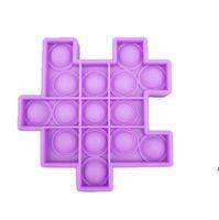 Creative Rubik's Cube Desktop Toy Mouse Control Pioneer Silicone Press Ball Sensory Fidget Juguete DIY Niños Juguetes DHC6867