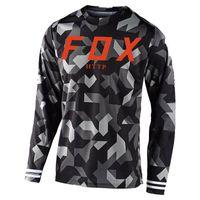 2021 Мотокросс Джерси МТБ Даунхилл Джереси FXR Велоспорт Горный велосипед DH Maillot Ciclismo Hombre Быстрая сухой Джерси HTTP Fox Jersey