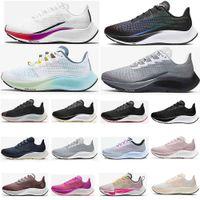 Nuevos Zooms Pegasus 37 Turbo 2 Black Gunmok Mens Running Shoes Zoomx 4 Siguiente Betrue Blue Ribbon Sports Women Sneakers 36-45