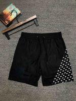 21SS uomini estate slim shorts palestra fitness bodybuilding in esecuzione maschio corto pantalone ginocchio lunghezza traspirante maglia sportswear designer pantaloni da spiaggia