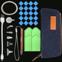 다이아몬드 그림 DIY 액세서리 5D 크로스 스티치 자수 LED 조명 포인트 드릴 펜 도구 모자이크 키트