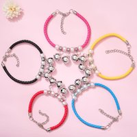 Dog Collars & Leashes Cat Bell Collar Pet Jewelry Necklace Adjustable PU Woven Solid Accessories For Chihuahua