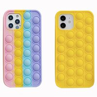 Colorful cell phone cases for Iphone 12 mini 11 pro xr x xs max 8 7 plus slicone cover soft