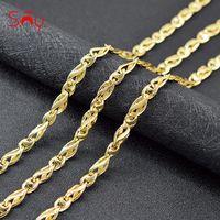 Sunny Jewelry Romantische Link Kette Halskette für Frauen Hohe Qualität Kupfer Engagement Geschenke Befindet sich Ketten