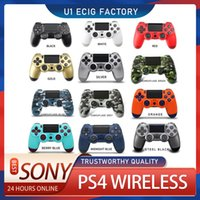 Logo PS4 Wireless Controller High Quality Gamepad 22 color For Vibration Sony Joystick Game pad GameHandle Controllers Play Station With Retail Box