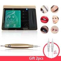 Tattoo Guns Kits Semi-Permanent Makeup Machine Pen Eyebrow Lip Liner Rotary Motor Kit MTS Micropigmentation Device