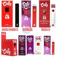 Cake XL Delta 8 Cake3 Dispositivo de Cigarros Descartáveis Gram completo Gram (1ml) Capacidade Vagem vazia POD recarregável Vape Pen 280mAh bateria para petróleo espesso