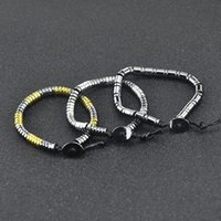 Beaded, Strands Nonmagnetic Health Hematite Stone Bracelet For Women Men Natural Beads Male Hand Jewelry Braclets Accessories