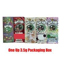 Uma caixa de embalagem 3.5g vazia 350mg OneUP Magic Package Bag Caixas para flores de ervas secas de tabaco
