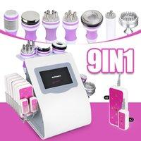 9in1 40K Ultrasound cavitation laserlipo fat reduction slimming body massager laser lipo lose weight machine beauty salon equipment