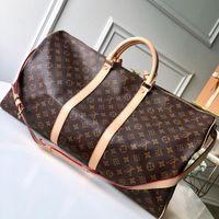 """Lv """"Louis"""" Vitton Vutton Designer Designer uomo borse da uomo di lusso donna borsa da viaggio bagaglio in pelle PU borse di cuoio grandi body body totes zaino valigia"""