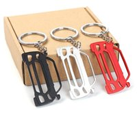 Keychains For Ford Mustang Shelby Ecoboost GT Aluminum Alloy Personality Creative Keychain Simple Styling Key Chain Accessory Pendant