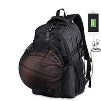 Shoulder bag basketball bag, Oxford cloth student men's school bag