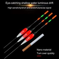 1 stück Fischereifloß Spezielle Licht LED leuchtende lange Schwanz Elektronische Änderung Stick Floats Bobber Biss Alarm Zubehör