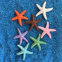 Simulación de resina Starfish decoración mediterránea acuario