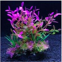 14Cm Simulation Artificial Plants Aquarium Decor Water Weeds Ornament Plant Fish Tank Aquarium Grass Decoration