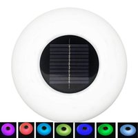 Pool & Accessories Solar LED Swimming Pond Underwater Floating Lamp Outdoor Garden Party Lawn Lights Lighting
