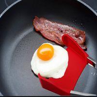 Altri utensili da cucina 2-in-1 Spatola intelligente Pinze non-bastone resistente al calore Cibi alimentari Gripo Acciaio inox Accessori in acciaio inox OWA4446